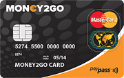 Money2Go debitcard