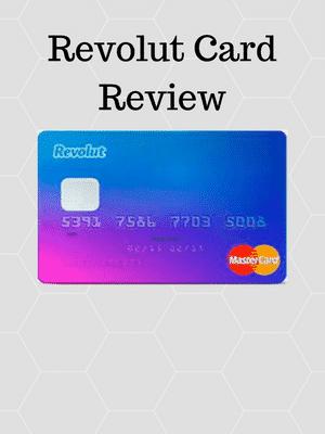 Revolut debit card blauw